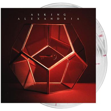 Asking Alexandria - 'Asking Alexandria' Cloudy Clear w/ Red Splatter Vinyl