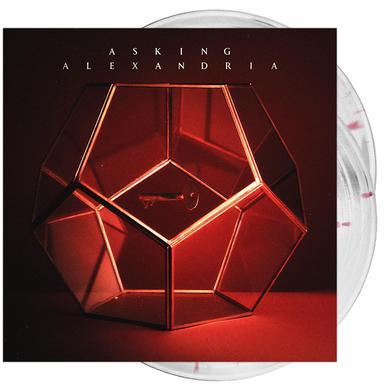 Asking Alexandria - 'Asking Alexandria' Cloudy Clear w/ Red Splatter Vinyl