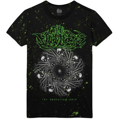 The Faceless - Spiraling Void Custom Dye Tee