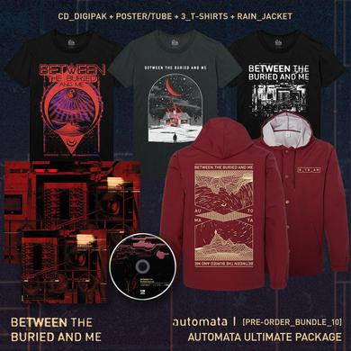 Between The Buried And Me - 'Automata I' Ultimate Pre-Order Bundle