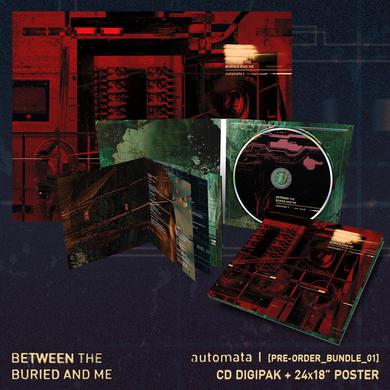Between The Buried And Me - 'Automata I' Pre-Order Bundle 1