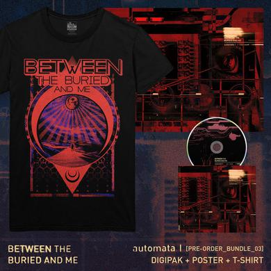 Between The Buried And Me - 'Automata I' Pre-Order Bundle 3