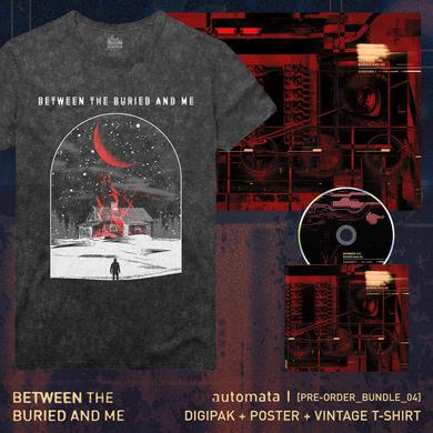 Between The Buried And Me - 'Automata I' Pre-Order Bundle 4