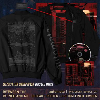 Between The Buried And Me - 'Automata I' Pre-Order Bundle 7