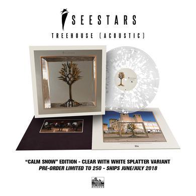 I See Stars - 'Treehouse (Acoustic)' Trans Clear w/White Splatter Pre-Order Vinyl