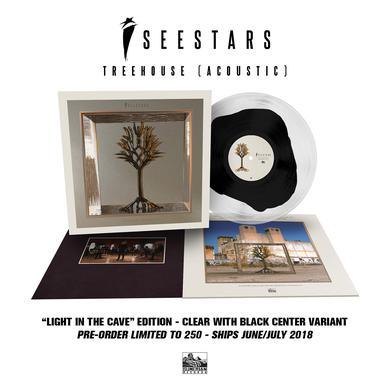I See Stars - 'Treehouse (Acoustic)' Clear w/Black Vinyl