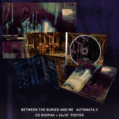 Between The Buried And Me - 'Automata II' CD Digipak Bundle