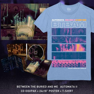 Between The Buried And Me - 'Automata II' Stacked Tee Pre-Order Bundle
