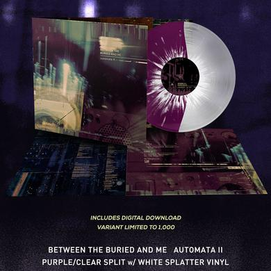 Between The Buried And Me - 'Automata II' Magenta & Clear Half & Half Pre-Order Vinyl