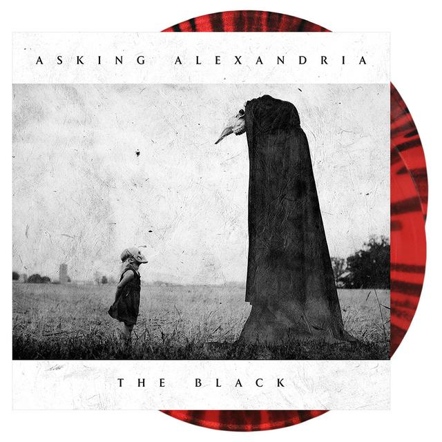 Asking Alexandria - 'The Black' Opaque Red Vinyl