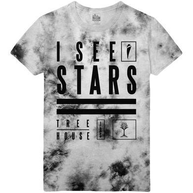 I See Stars - Custom Dye Treehouse Tee