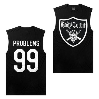 Body Count - Crest Sleeveless Black