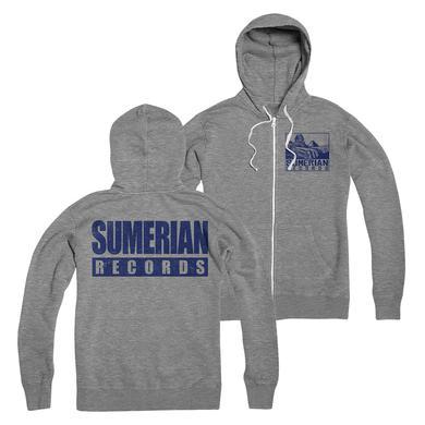 Sumerian Merch Sumerian Records - Logo Zip-Up Hoodie
