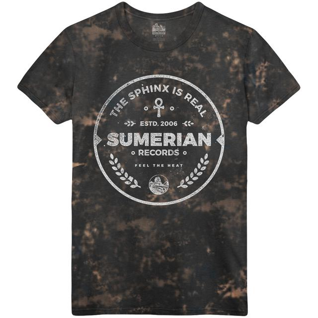 Sumerian Merch Sumerian Records 10 Year - Acid & Heat Tee