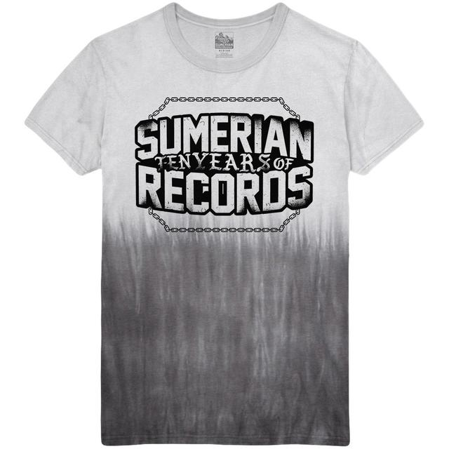 Sumerian Merch Sumerian Records 10 Year - Break The Chains Tee