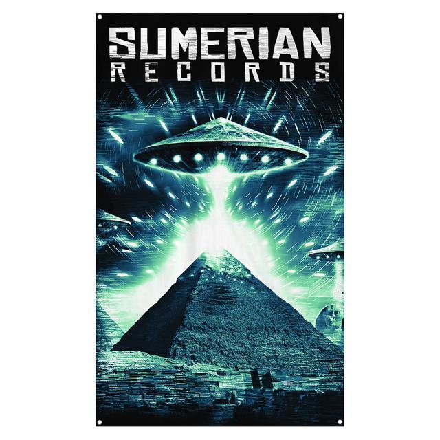 Sumerian Merch Sumerian Records - UFO Wall