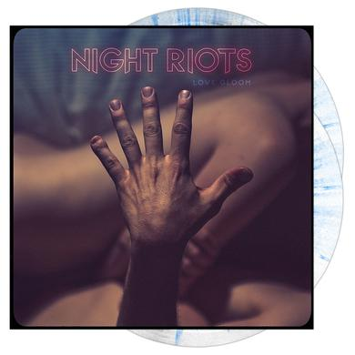 Night Riots - Love Gloom 'Opaque White w/ Blue Splatter' Vinyl