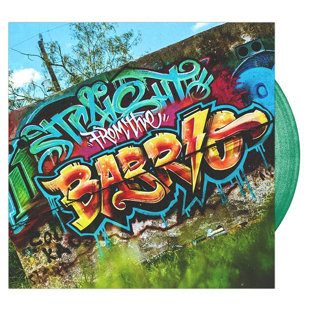Upon A Burning Body - Straight From The Barrio 'Trans Green' Vinyl