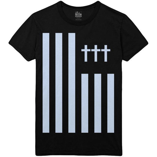 Crosses ††† - Flag Tee Blue