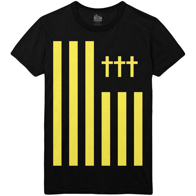 Crosses ††† - Flag Tee Yellow