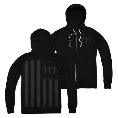 Crosses ††† - Flag Zip-Up