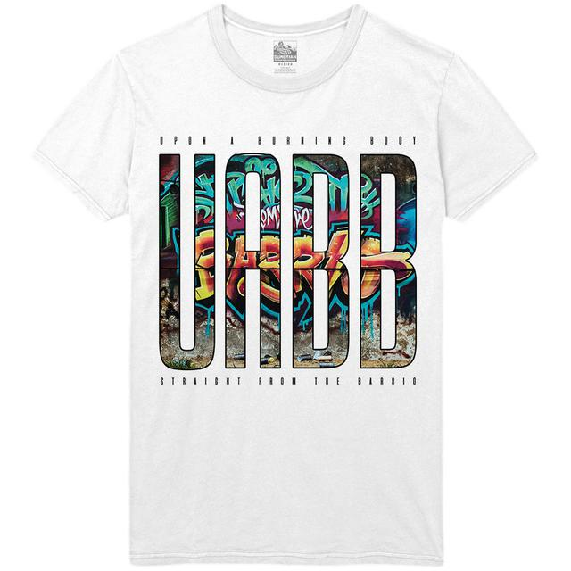 Upon A Burning Body - Letters Tee