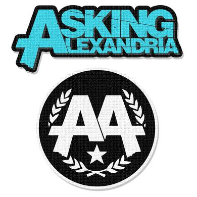 Asking Alexandria Patch Pack