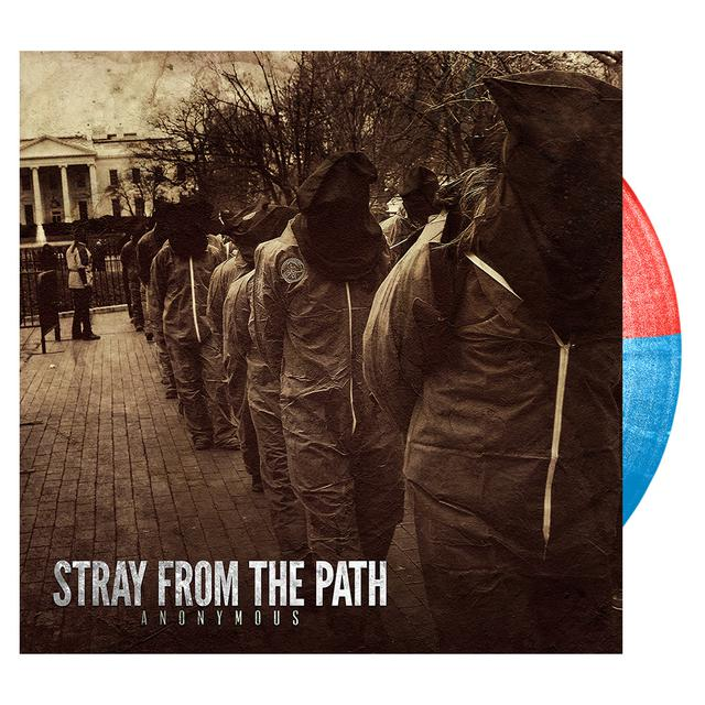 Stray From The Path - Anonymous 'Red & Blue' Vinyl