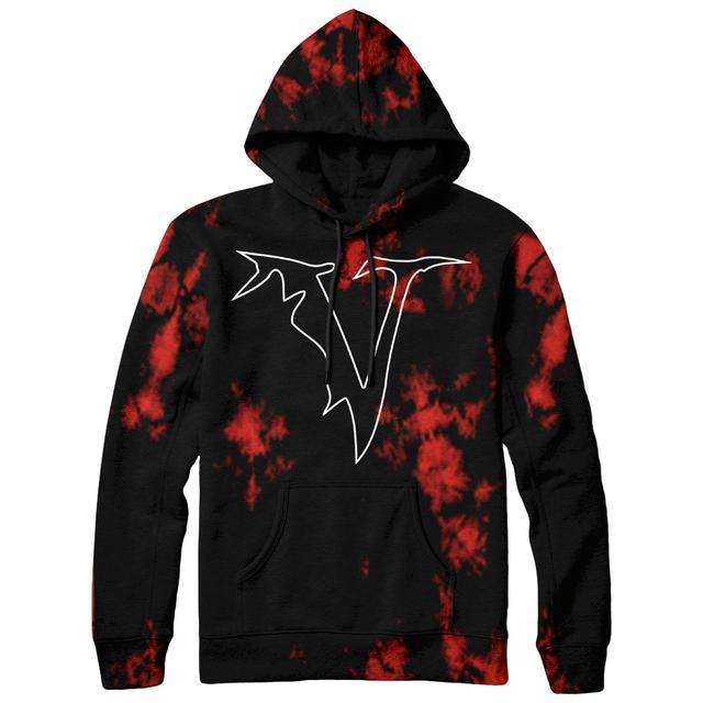 Veil Of Maya - Red Dye Hoodie