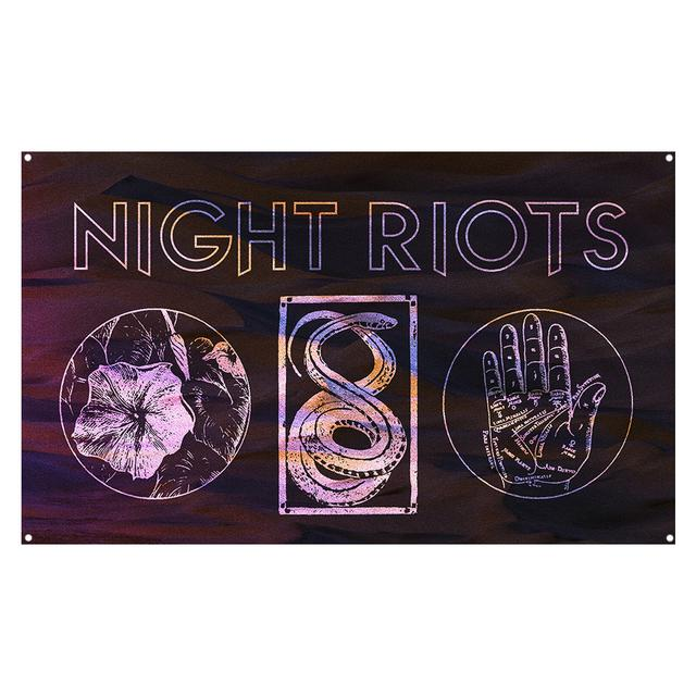 Night Riots - Wall Flag