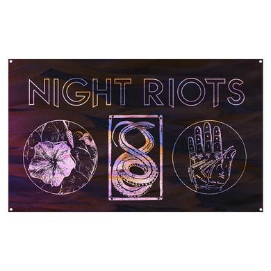 Night Riots - Wall Flag