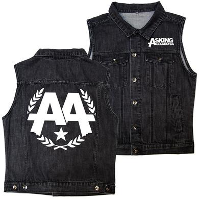 Asking Alexandria- Vintage Black Vest