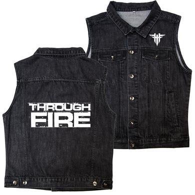 Through Fire - Vintage Black Vest