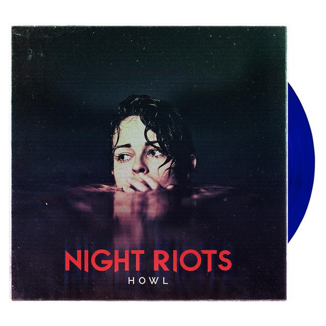 Night Riots - Howl 'Trans Blue' Vinyl