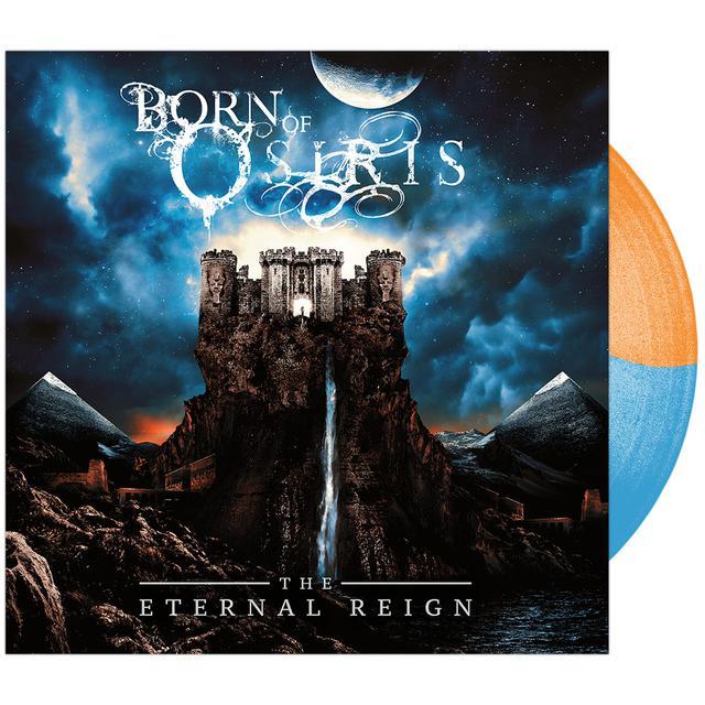 Born Of Osiris - 'The Eternal Reign' Trans Blue & Opaque Orange Vinyl