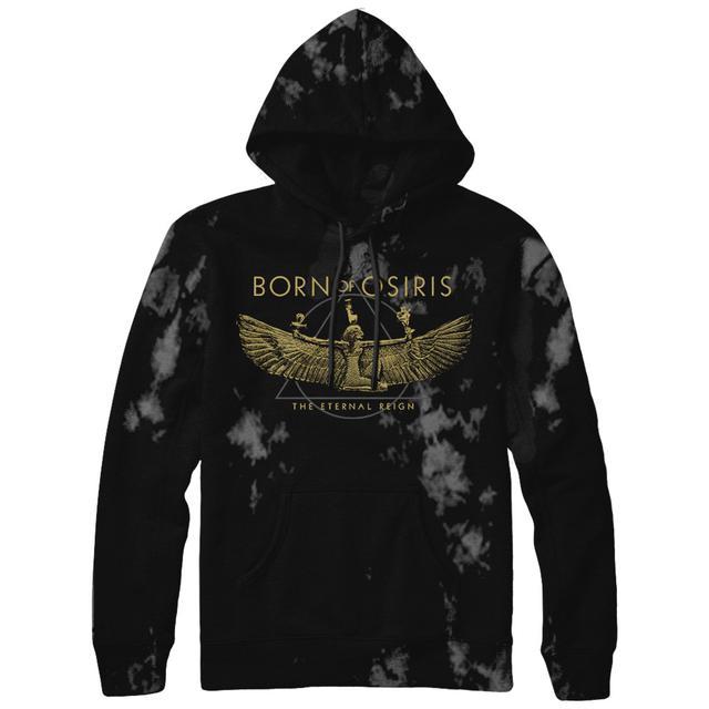 Born Of Osiris - Crystal Wash Wings Hoodie