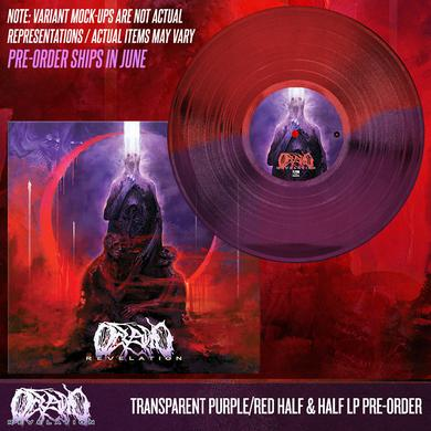 Oceano - Revelation 'Trans Purple/Red Half & Half' Vinyl