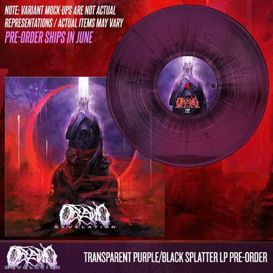 Oceano - Revelation 'Trans Purple/Black Splatter' Vinyl