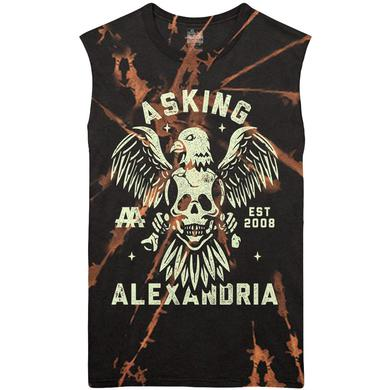Asking Alexandria - Eagle Skull Sleeveless