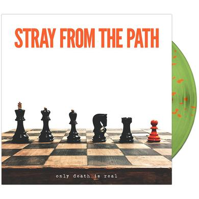 Stray From The Path - 'Only Death Is Real' Green w/Orange Splatter (Vinyl)