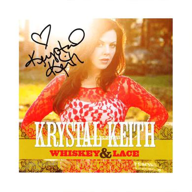 Krystal Keith Signed Whiskey & Lace CD