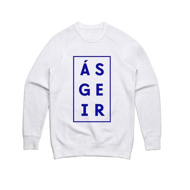 Asgeir Afterglow / White Crew Sweater