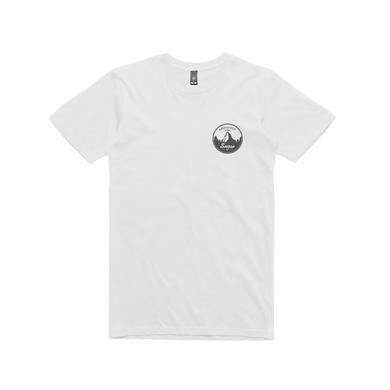 Angus & Julia Stone Snow Mountain/ White T-shirt