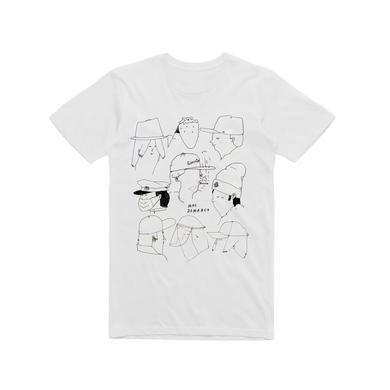 Mac Demarco Tour 2015 / White T-shirt