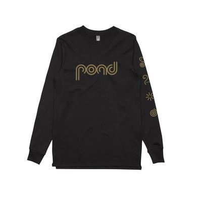 Pond Symbols / Black Longsleeve T-shirt