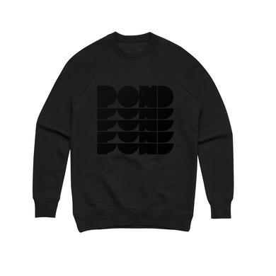 Pond Repeat Logo / Black Crew