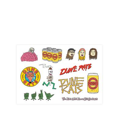 Dune Rats / Sticker Sheet