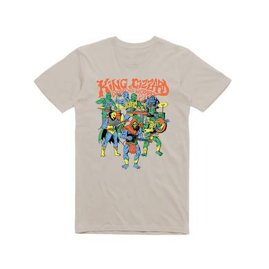 King Gizzard & The Lizard Wizard Masters / Sand T-shirt