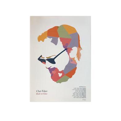 Nick Murphy 'Built On Glass' / A3 Poster