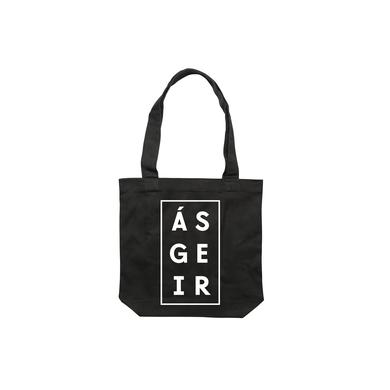 Asgeir Afterglow / Black Tote Bag